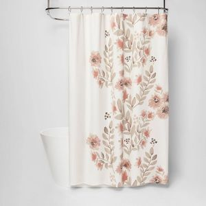 Theshold Floral Shower Curtain